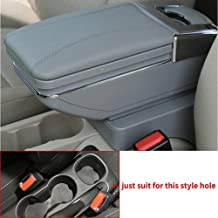 Longzhimei Arm Rest Box for Chevrolet Chevy Trax 14-17 Car Center Console Armrest Storage Box Accessories with Cup Holder Removable Ashtray