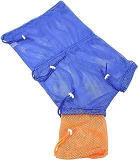 Balacoo Cat Shower Net Bag Adjustable Cat Grooming Mesh Bag Bite- Resistant Cat Shower Bag for Cat Bathing Nail Trimming E...