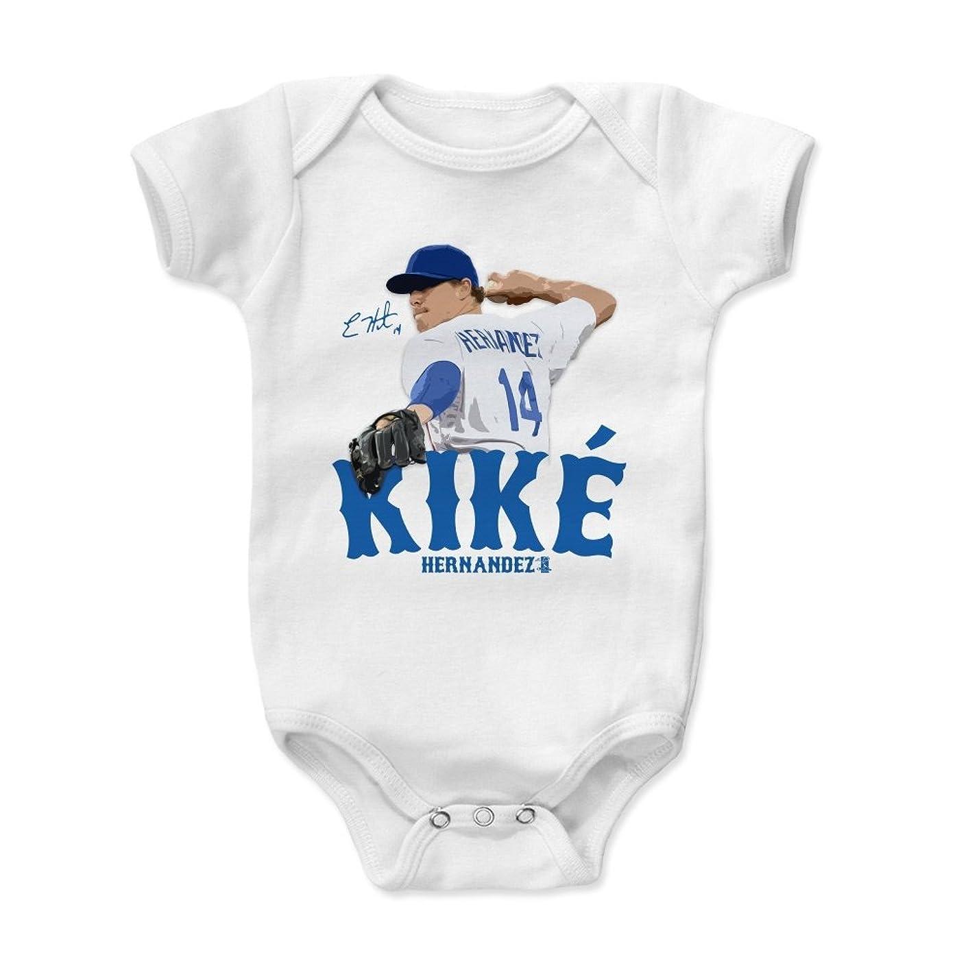 500 LEVEL Enrique Hernandez Baby Clothes & Onesie (3-6, 6-12, 12-18, 18-24 Months) - Los Angeles Baseball Baby Clothes - Enrique Hernandez Signature