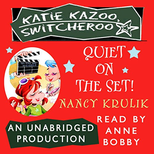Quiet on the Set! audiobook cover art