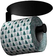 XYZMDJ Metalen toiletpapierhouder-toiletpapierhouder met plank roestvrij staal badkamer papieren handdoekhouder plus mobie...