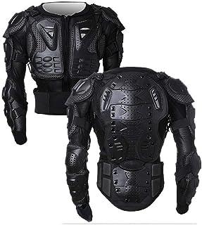 <h2>Wildken Motorrad Schutz Jacke Pro Motocross ATV Protektorenjacke mit Rückenprotektor Scooter MTB Enduro für Damen und Herren Schwarz, XL</h2>