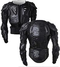 WILDKEN Chaqueta de Protección para Motocross Motos Ropa Protectora de Cuerpo Armadura Completo Profesional de Motocicleta Deportiva para Hombres Columna Vertebral Hombro Mujer Pecho (Negro, M)
