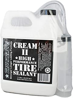 Truckerco Cream 2 II Tubeless Tire Sealant High Performance 1 Liter/Quart