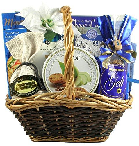 Gift Basket Village Hanukkah Kosher Celebration Chocolate Basket, 1 Count