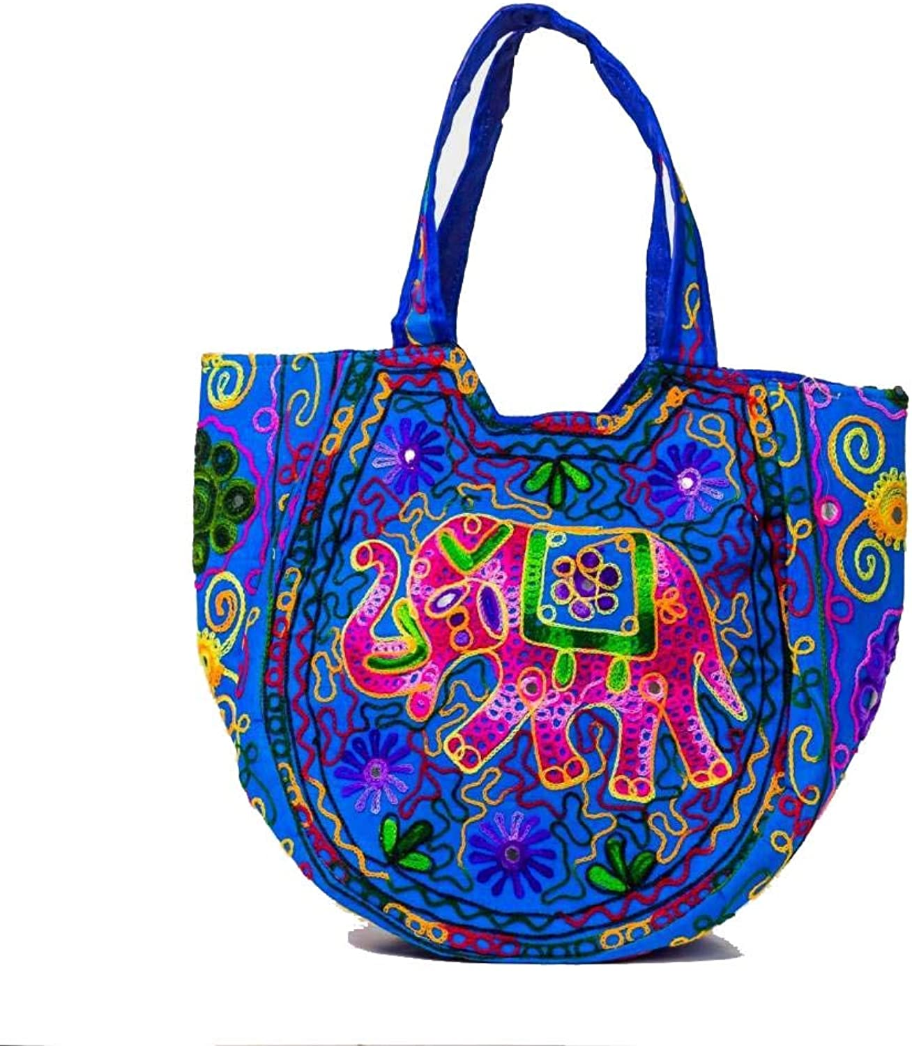 Indian Wholesale 50 pc lot Bulk Mandala Ombre Hippie Assorted Bag Tribal Boho Shoulder & Handbag Ethnic Cotton Messenger Carry Bag With Shoulder Strap Tote Purse For Ladies by Craft Place CAD-16
