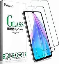 Ferilinso Cristal Templado para Xiaomi Redmi Note 8T Protector de Pantalla,[2 Pack] Protector de Pantalla Screen Protector para Cristal Templado Xiaomi Redmi Note 8T