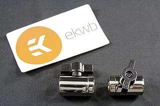 EK-AF Ball Valve (10mm) G1/4 - Nickel 2 Pack