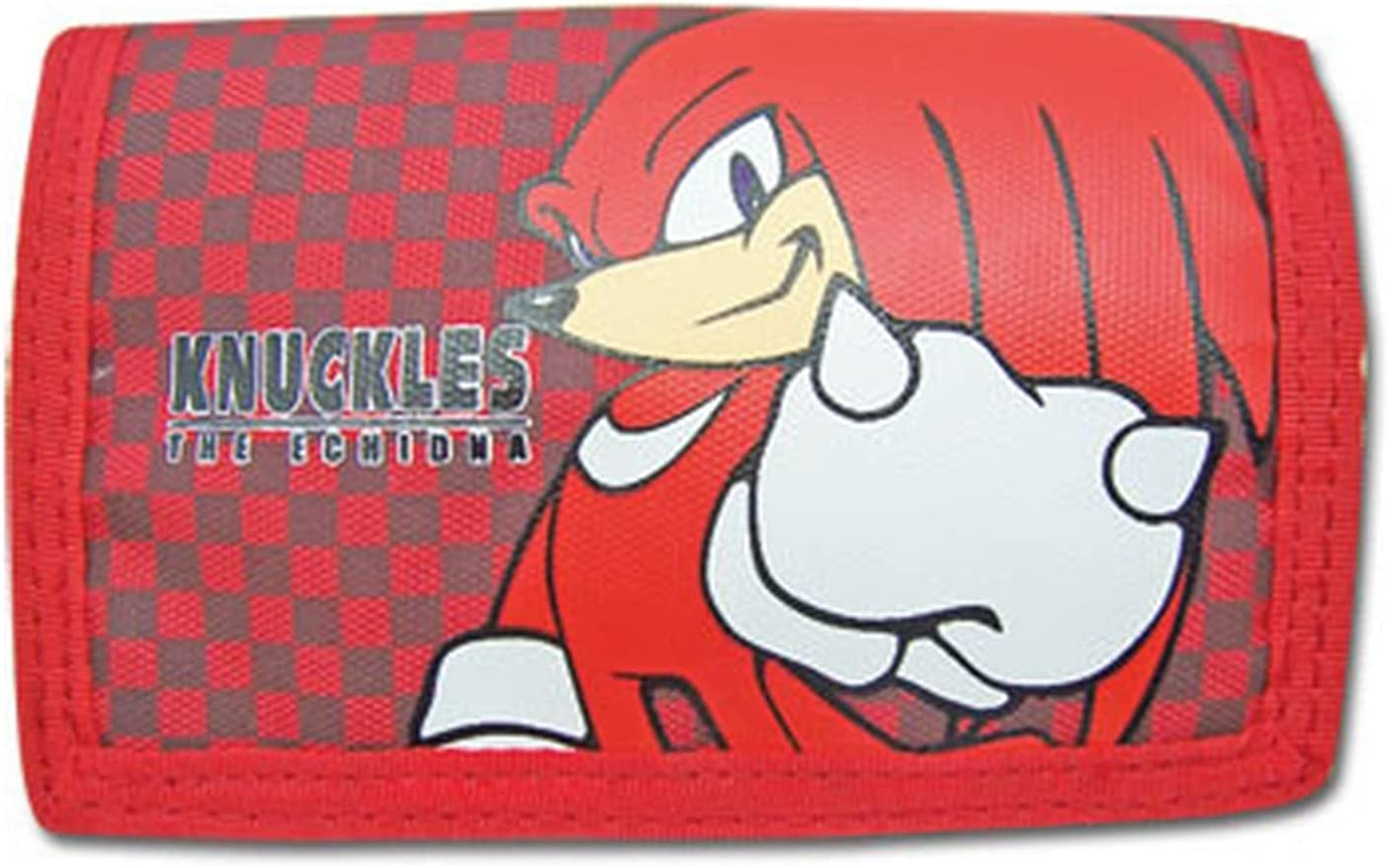 Great Eastern Entertainment Sonic The Hedgehog Knuckles Wallet Multicolored, 5