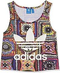 Adidas Crochita Crop Camiseta de Tirantes para Mujer