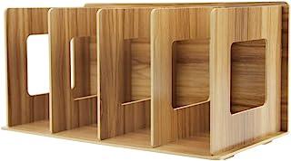 comprar comparacion Revistero desmontable pie archivador revistero de madera DIY y organizador coleccionistas Organizador de escritorio con 4...