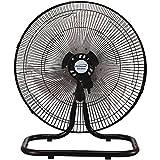 Brentwood Kool Zone F1831B 18' Industrial 3-in-1 Fan, One Size, Black
