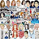 NANANA Grey's Anatomy TV Show Stickers for Motorcycle Notebook Computer Car DIY Children's Toys Guitar Refrigerator 100 PCS
