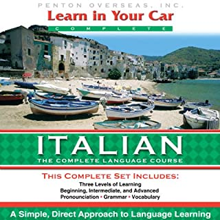 Couverture de Learn in Your Car: Italian, the Complete Language Course