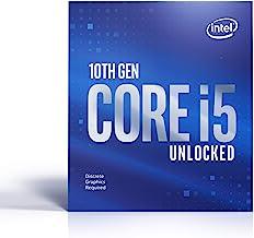 Intel Core i5-10600KF Desktop Processor 6 Cores up to 4.8 GHz Unlocked Without Processor Graphics LGA 1200 (Intel 400 Seri...