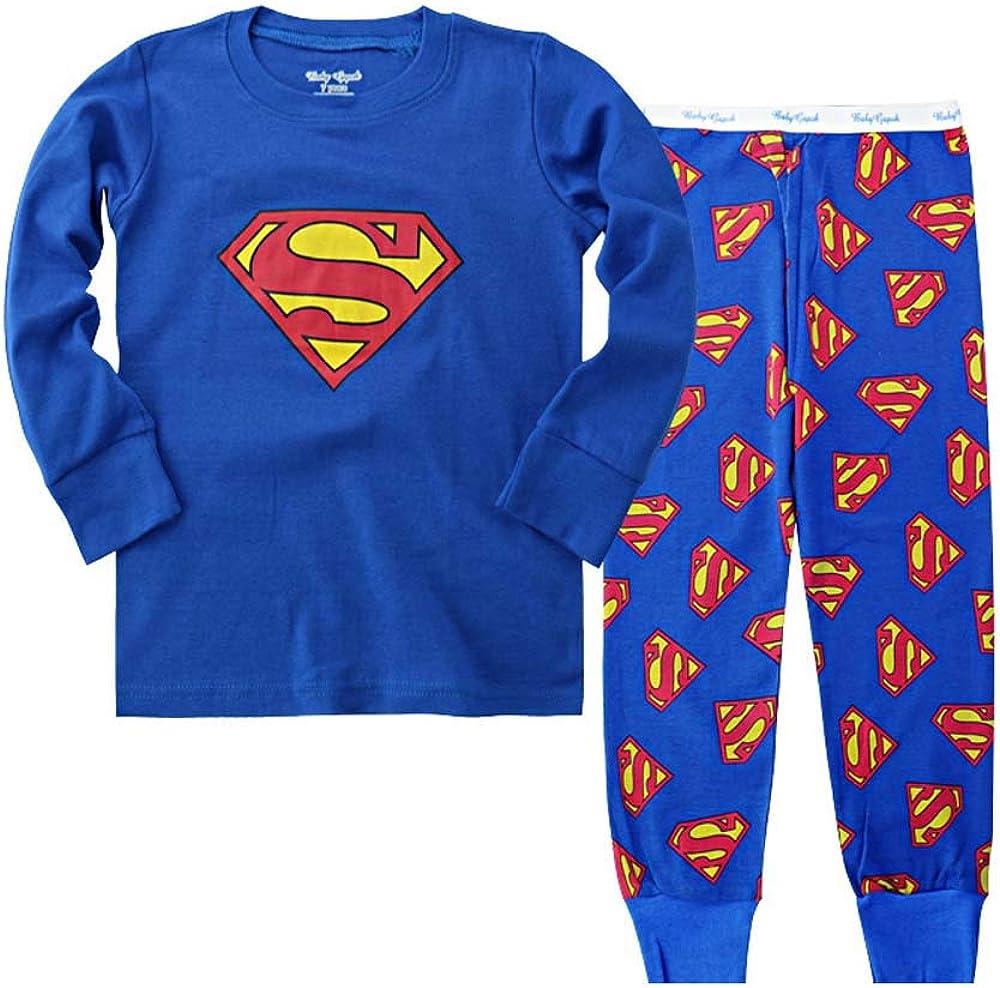 N'aix Little Boys 4 years warranty Cotton Lowest price challenge Pajamas Cartoon Kid`s Sleepwears Super