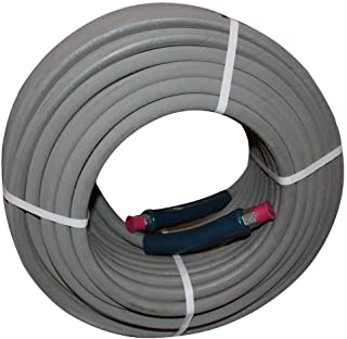 "100 ft 3/8"" Gray Non-Marking 4000psi Pressure Washer Hose"