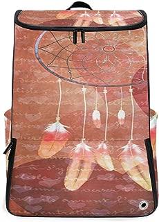 SLHFPX Travel Backpack Dream Catcher Heart Duffle Backpack for Men Big Hunting Bag