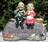 Gartendekoration Willkommensschild 'Opa und Oma'