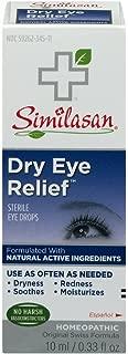 Similasan Dry Eye Relief Sterile Eye Drops 0.33 oz