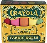 Konfetti Baumwollstoffe Vintage Crayola Box 10FAT