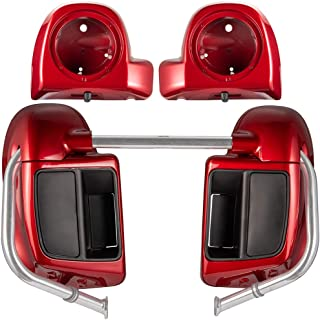 Us Stock Wicked Red Rushmore Lower Vented Fairings Kit 6.5
