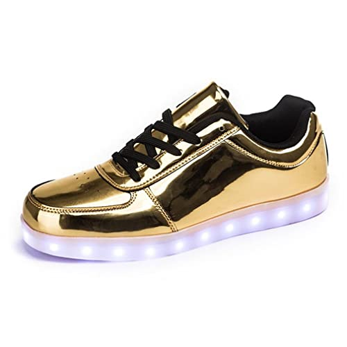 AnnabelZ LED Shoes USB Charging Light up Glow Shoes Men Women Fashion  Sneakers Flashing Luminous Sports 2611ee2c9a23