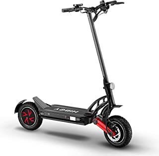 Hiboy Electric Scooter, Titan PRO Offroad Electric Scooter for Adults with Powerful Dual 1200W Motors, Max Speed up to 32 ...