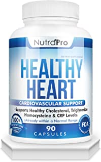 Sponsored Ad - Healthy Heart - Heart Health Supplements. Artery Cleanse & Protect. Supports Cholesterol and Triglyceride B...