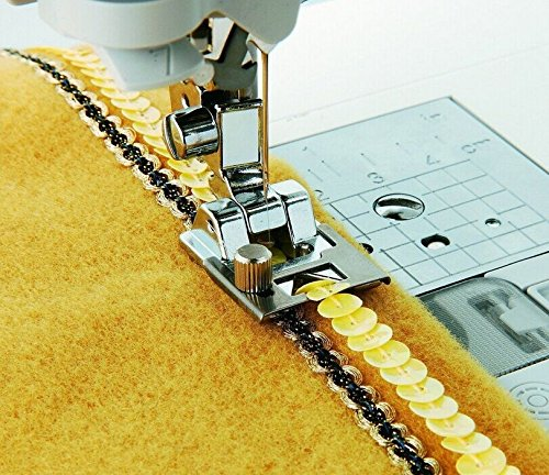 Brother Baby Lock SA141 Braiding Foot,Accurately attach trim, yarn, ribbon, rick