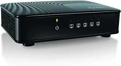 Sponsored Ad - Zyxel 5-Port Gigabit Ethernet Switch for Gaming and Media, [GS105]