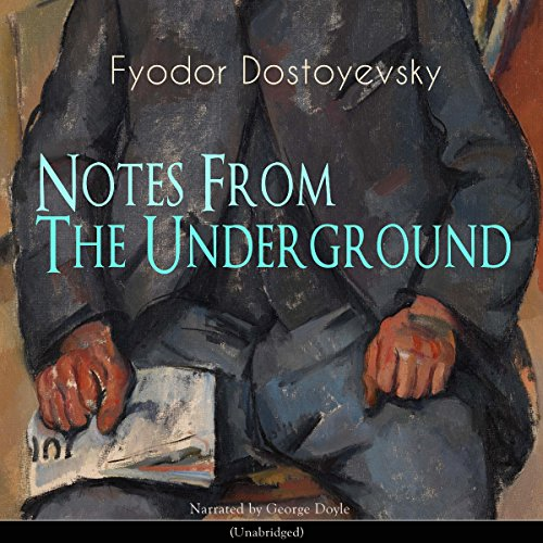 Notes from the Underground audiobook cover art
