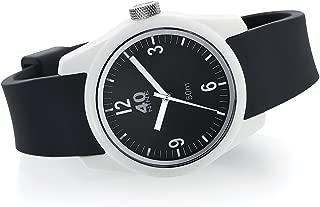 40Nine Women's Basic Japanese-Quartz Watch with Silicone Strap, Black, 18 (Model: 40N2.1L)