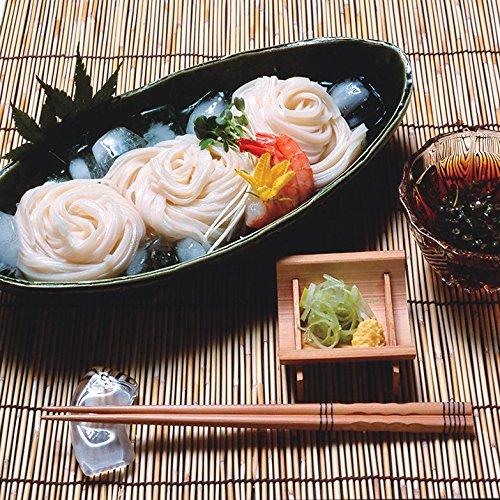 稲庭生うどん 比内地鶏つゆ付きセット〔麺(130g×2食)×6、つゆ30ml×12〕