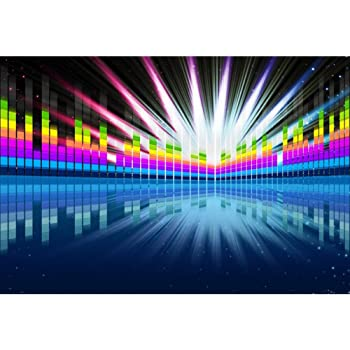 New 7x5ft Back to The 80 s Party Themed Photo Booth Props Photography Backdrop Background mz-1060