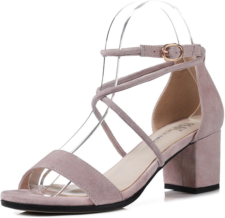XZGC Strap Sandalen, Bequem mit Sexy Sommer Geschlitzt für Frauen Schuhe