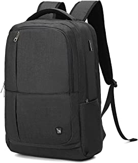 YOREPEK Backpack for Men,Extra Large 50L Travel Backpack with USB Charging Port,TSA Friendly Business College Bookbags Fit 17 Inch Laptops,Black SHRRADOO Durable Waterproof Anti Theft Laptop Backpack Travel Backpacks Bookbag with usb Charging Port for Women & Men School College Students Backpack Fits 15.6 Inch Laptop Royal Blue Modoker Vintage Backpack for Men Women, Canvas Bookpack Fits Most 15.6 Inches Computer and Tablets, Rucksack Backpack with USB Charging Port, Brown OIWAS Laptop Backpack 17 Inch For Men Business 17.3 Inch Bagpack Women Travel Daypack Large College School Bookbag Teens(Black)