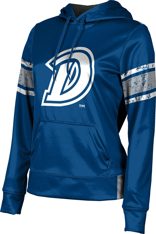 ProSphere Drake University Girls' Pullover Hoodie, School Spirit Sweatshirt (End Zone)