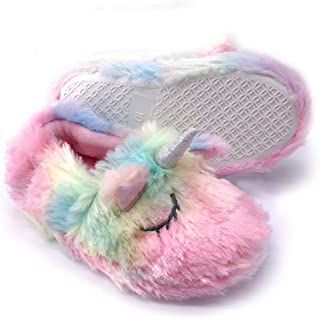fuzzy slippers for toddlers