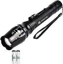 Ultra Heldere LED-zaklamp Zoomable Torch 5 Verlichtingsmodi Buitenverlichting Gebruikt voor Camping Adventures Night (Body...