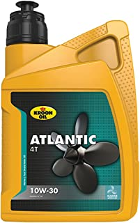 Kroon oil 1838174 33435 Motoröl Atlantic 4T 10W 30 1 Liter, Brown