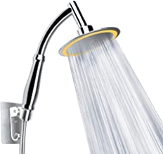 TZY Shower Head Shower Heads with Handheld Spray Pressure Shower with Adjustable Ball Head High Pressure Shower with Explosion-Proof Hose and Punch-Free Self-Adhesive Shower Head