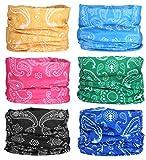 Fascia elastica multifunzionale Sport all' aria aperta senza giunte magico copricapo foulard sciarpa con UV ultravioletti, Sommer Serie