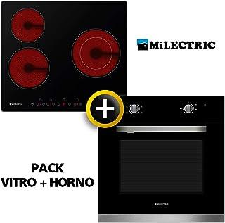Pack VITRO + Horno MILECTRIC (Placa Encimera mas Horno