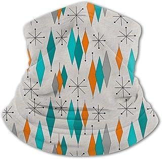 Mediados de siglo Moderno Pasamontañas para niños con protección UV para cuello, resistente al viento, multifunción, para ...