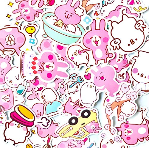Kanahei Kanahera Stickers Japan'S Super Popular Hand Account Stickers Computer Skateboard Guitar Luggage Stickers 35 Sheets
