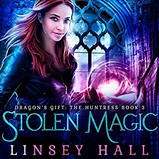 Stolen Magic audiobook cover art