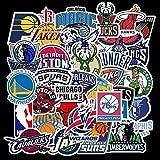 BLOUR Non-répétition Basketball Ball Logo Sneakers Doodle Autocollants Trolley Case Voyage Skateboard Guitare Étanche 32 pcs