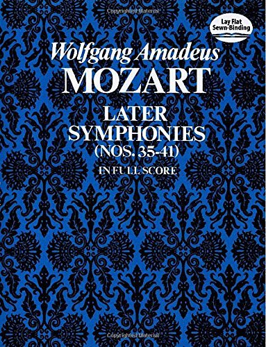 mozart later symphonies dover - 5