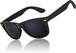 Polarized Sunglasses for Men Driving Sun glasses Shades 80's Retro Style Brand Design Square